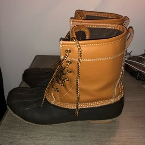 Merona Shoes - Brown snow boots
